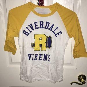 Riverdale Vixen Baseball Tee